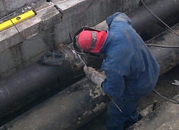 maxworks tig welding of petroleum pipes in trench