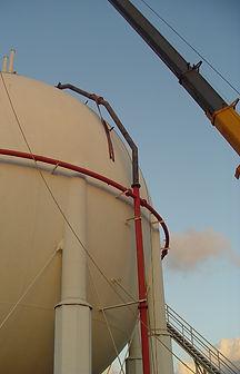 maxworks installation of LPG sphere