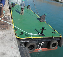 maxworks commissioning of pontoon for MPA