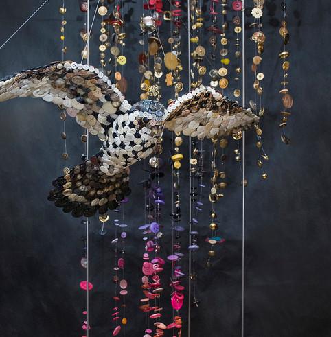 Detail: vogel