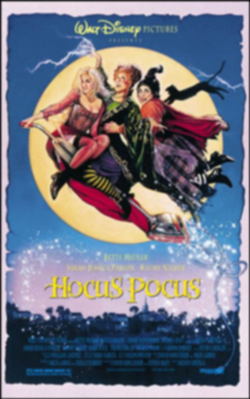 HOCUS POCUS Poster / Courtesy of Disney