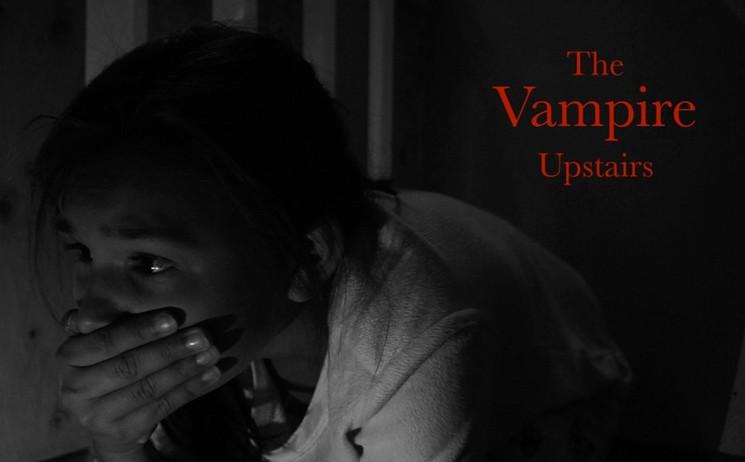 The Vampire Upstairs Poster