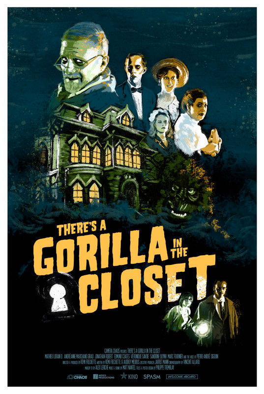 There's A Gorilla In My Closet Poster