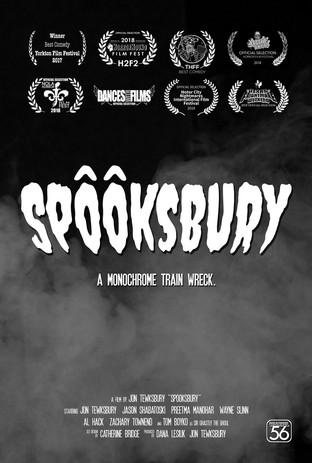 Spooksbury Poster