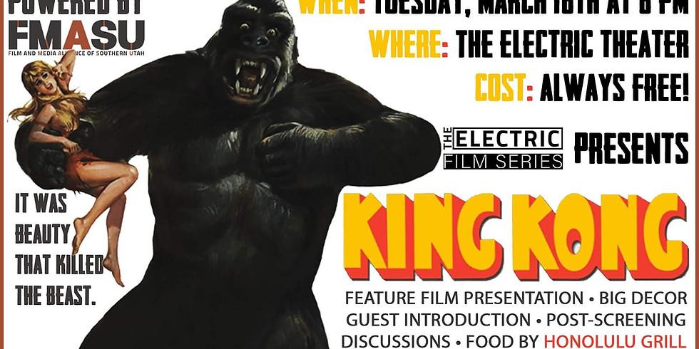 Free Screening of KING KONG (1933)