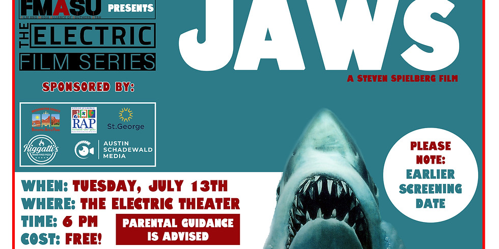 JAWS (1975) Screening at the Electric Theater!