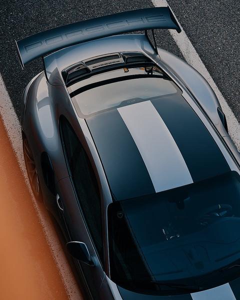 GuilleGS_cars_porscheBarcelona_bw_merced