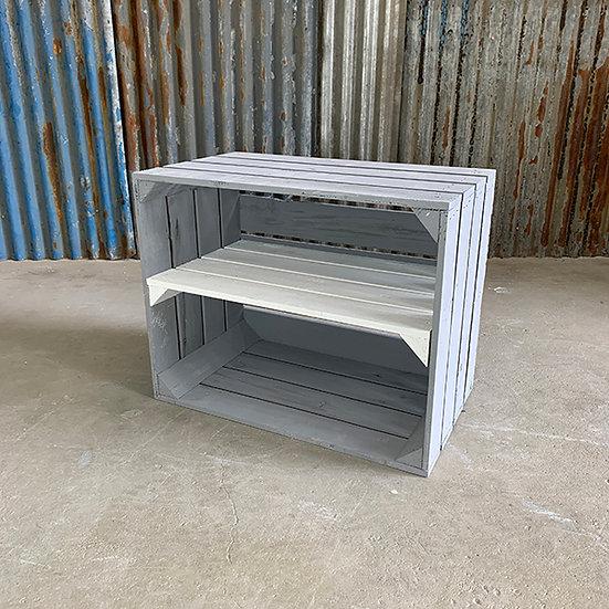 "Neue graue Kiste ""Sonnenberg"" 50x40x30cm"