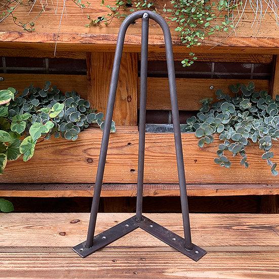 Hairpin Legs | Haarnadel-Beine | 48 cm | L-Form | massiv