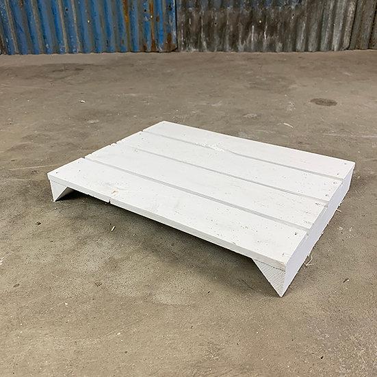 Neuer weißer Regalboden | 38 x 29 cm
