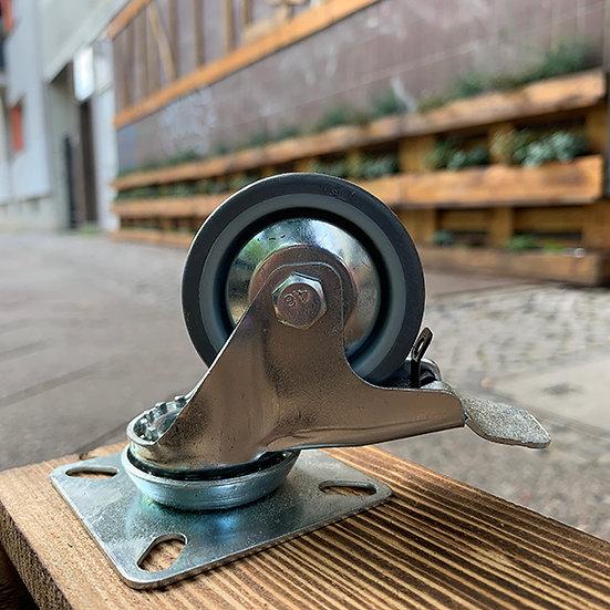 Möbelrolle 7cm   mit Bremse