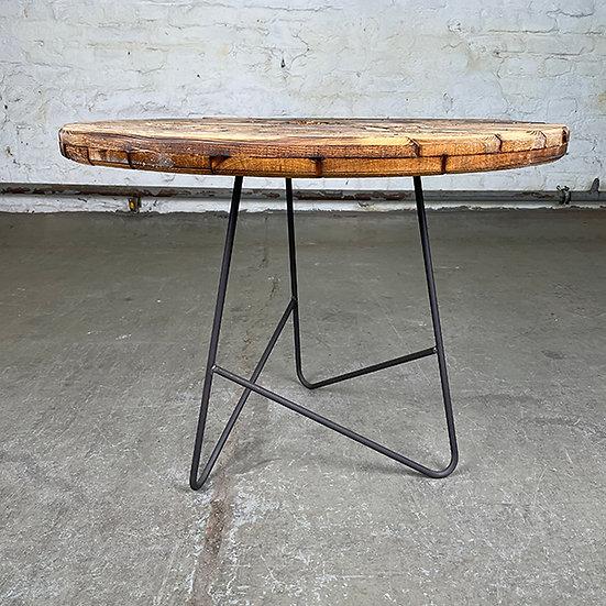 Rohstahl-Dreibein   Hairpin Leg Tischgestell   Massiv   73 cm