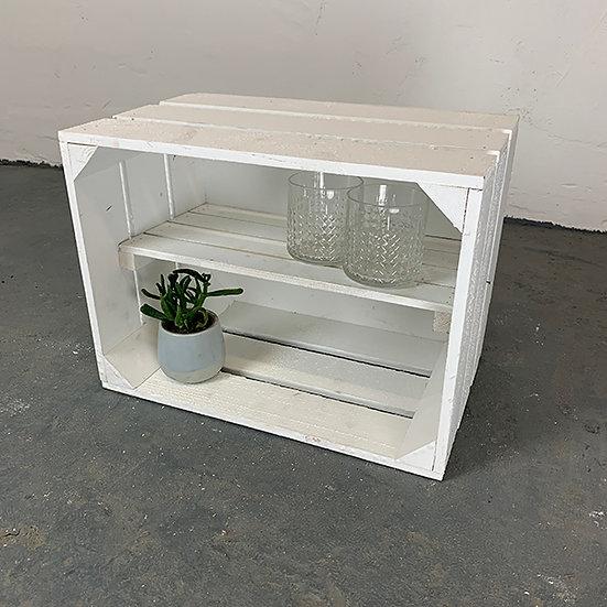 """Neue weiße Kiste """"Wannsee"""" 40x30x23cm"""