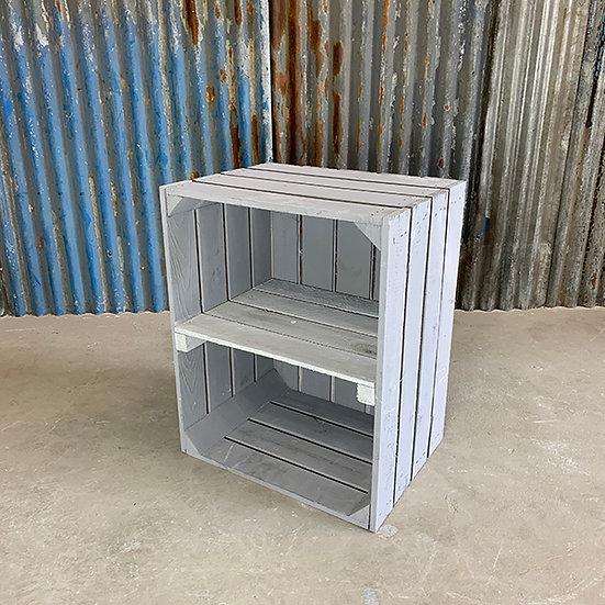 "Neue graue Kiste ""Alt Ruppin"" 50x40x30cm"
