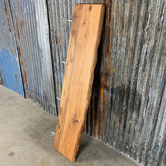 Schwebendes Regal aus massiver Eiche| 151,5x35x4 cm