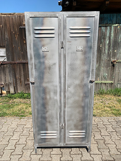 Industrial Metallspind Doppeltürig | 185x80x50cm
