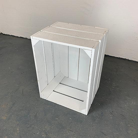 """Neue weiße Kiste """"Havelland"""" 40x30x23cm"""