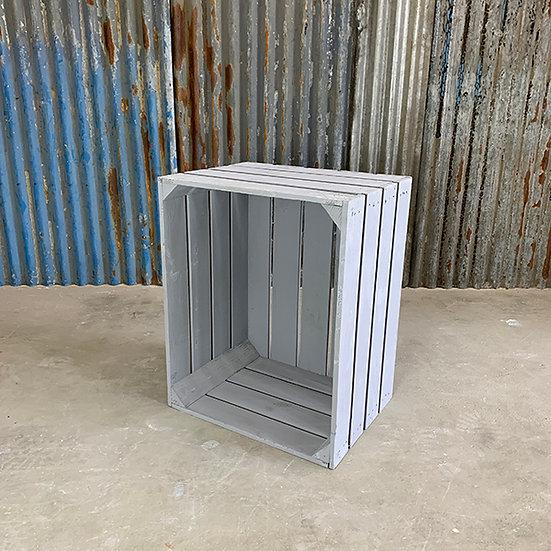 "Neue graue Kiste ""Molchow"" 50x40x30cm"