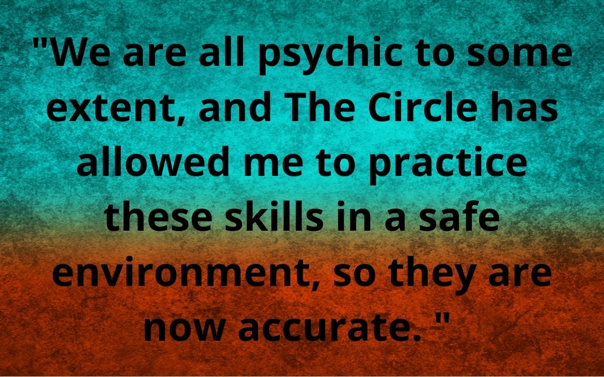 _We are all psychic to some extent and T