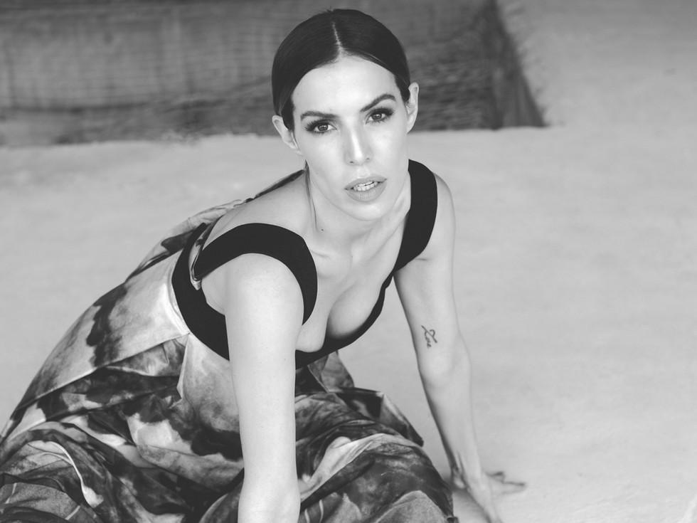 OLGA PIEDRAHITA BY CRISTINA WARNER  Photography: Carolina Osejo Model: Cristina Warner Hair&Makeup: Laura Pantoja Clothes: Olga Piedrahita  Bogotá/2018