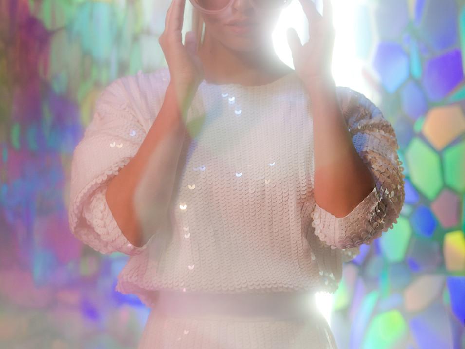 PEDRINA, ARTIST PORTRAIT  Photography: Carolina Osejo Photo Assist.: Luis Martinez Model: Pedrina Hair&Makeup: Alejandro Romero Hair&Makeup Assist.: Ellen Pavajeu Stylist: Juan David Moya Art Director: Arte Kaput  Bogotá/2018