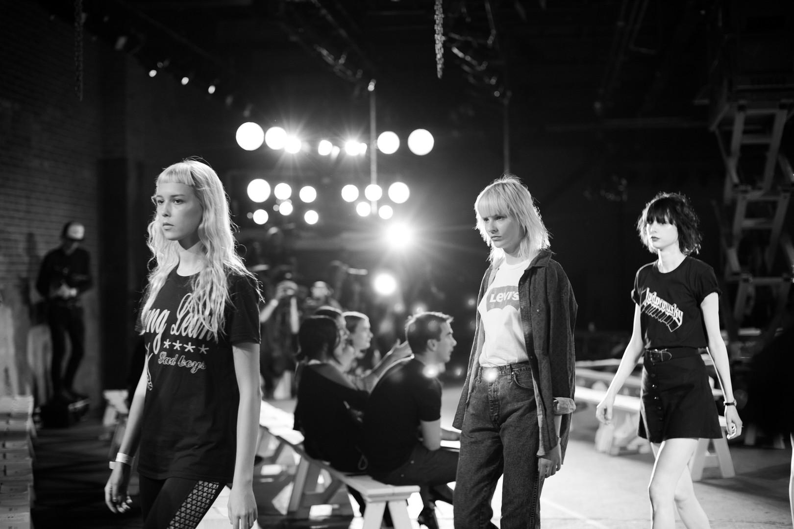 NYFW Monse Maison/Backstage Hudson Mercantile, NY 2016