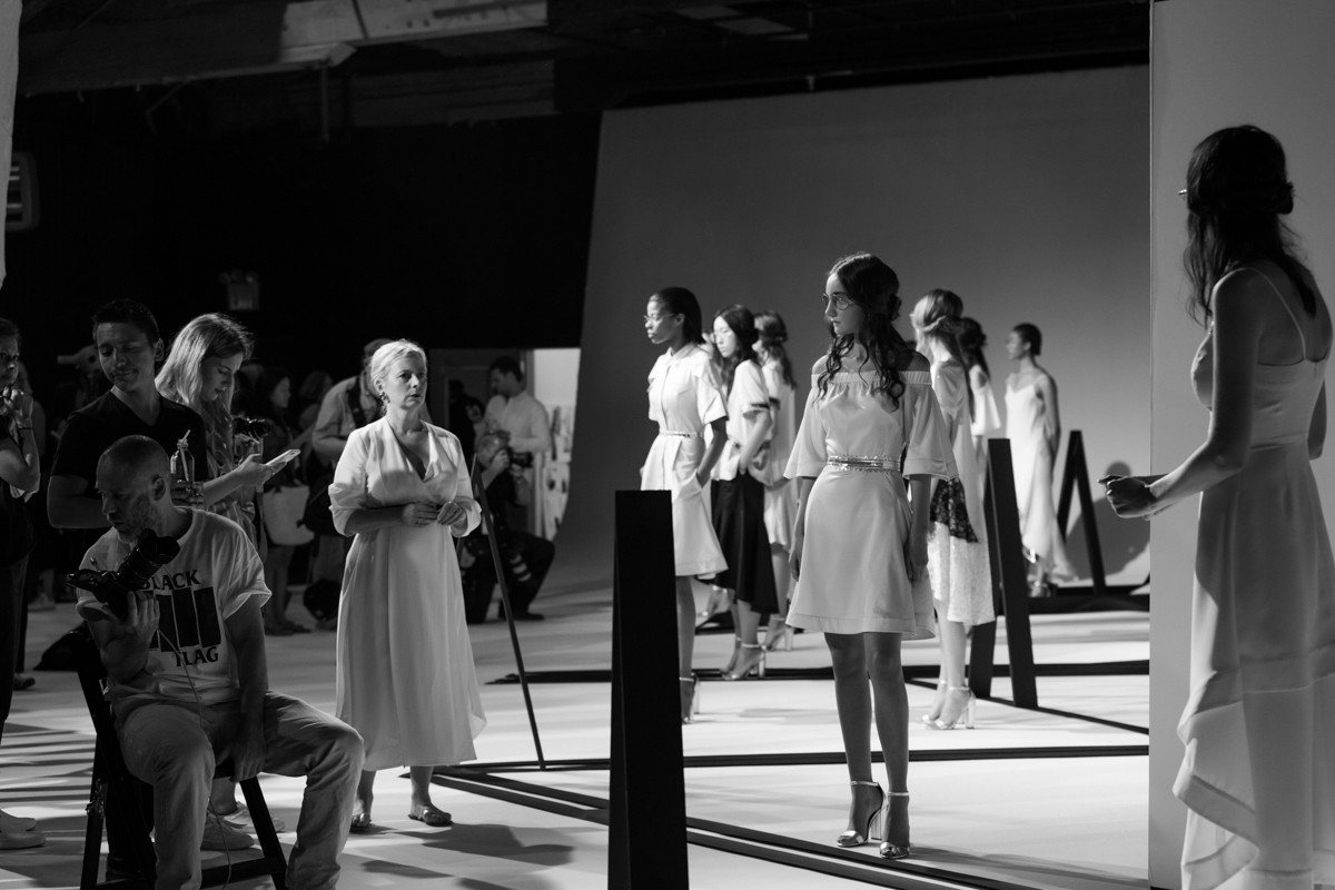 NYFW Charles Youssef/Backstage High Line Stages, NY 2016