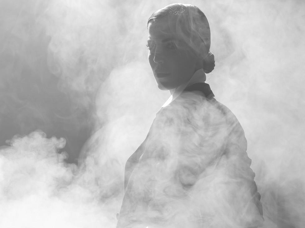 ANA MARÍA ESTUPIÑÁN   Photography: Carolina Osejo  Models: Cristina Warner, Ana María Estupiñán Hair&Makeup:Alejandro Romero Stylist:Juan David Moya  Art Director: Devorah Goldd Clothes:Emporio Armani Shoes:Studio F Location: Centro Creativo Textura  FUCSIA MAGAZINE Bogotá/2016