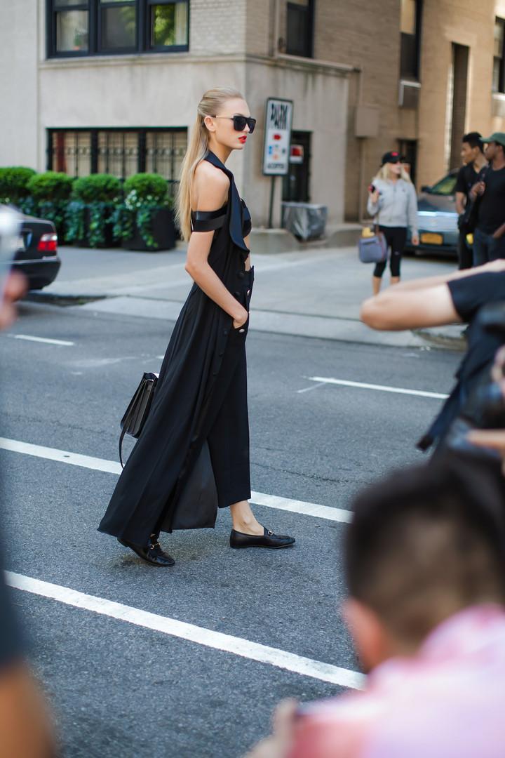 NYFW Carolina Herrera/Street Fashion The Frick Collection, NY 2016