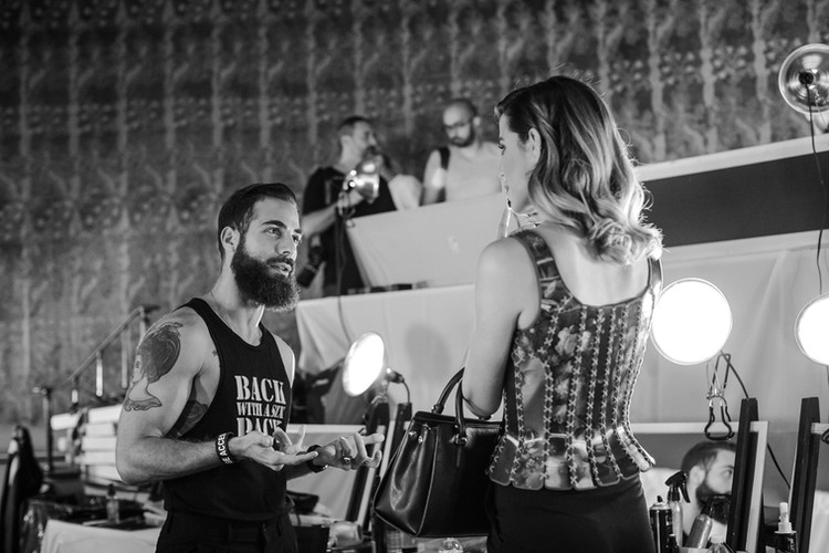 NYFW Carolina Herrera/Backstage The Frick Collection, NY 2016