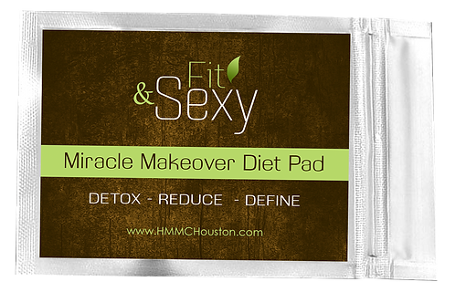 MIRACLE MAKEOVER DETOX PADS 30 Days