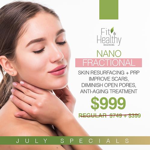 Nano fractional skin resurfacing