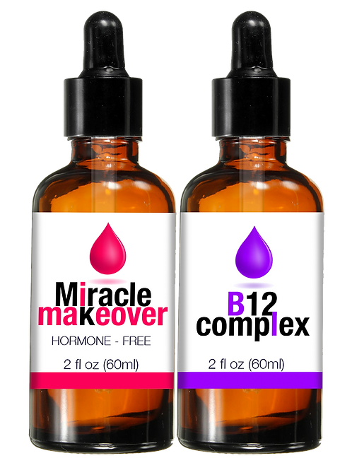 2 SETS MIRACLE MAKEOVER DROPS