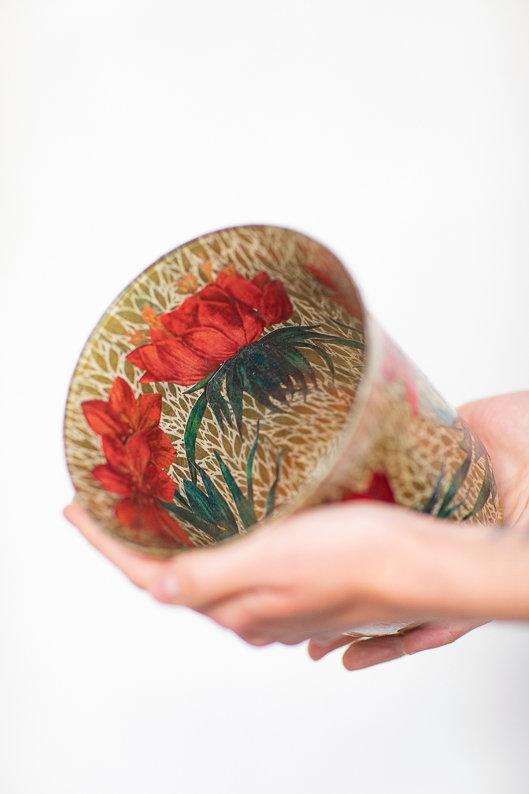 Decoupage vázy nebo misky 6.11.