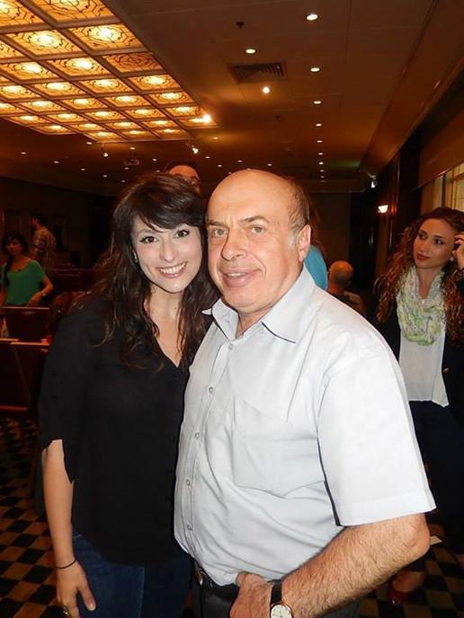 With Natan Sharansky