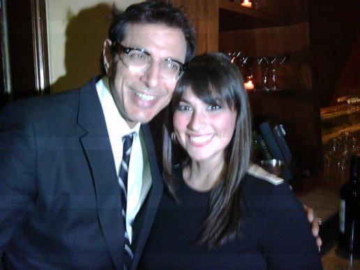 With Jeff Goldblum