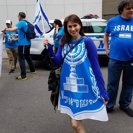 My fabulous dress for the Israel parade