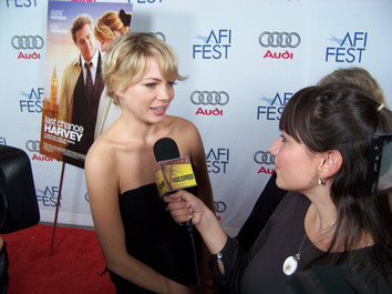 Interviewing Michelle Williams