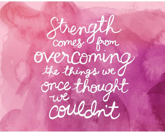 Motivational Monday - Strength