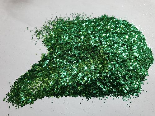 GREEN CHUNKY BIODEGRADABLE GLITTER