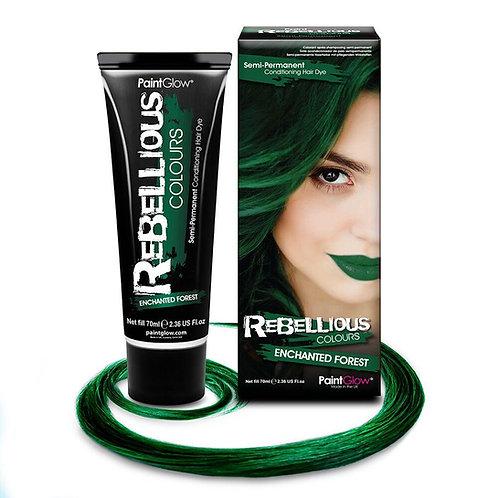 ENCHANTED FOREST GREEN HAIR DYE