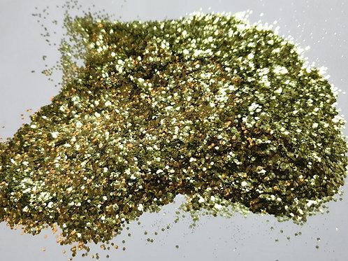 GOLD CHUNKY BIODEGRADABLE GLITTER