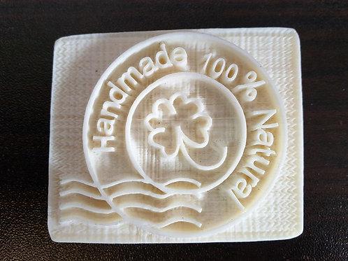 'HANDMADE 100% NATURAL' SOAP STAMP