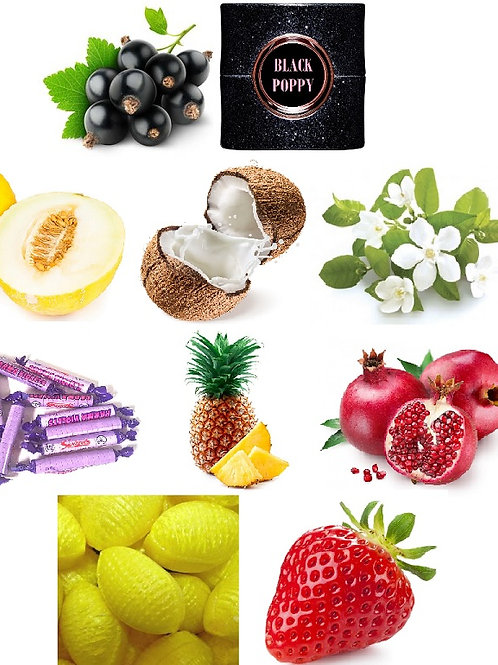 FRUITY PACK 10 FRAGRANCE OILS
