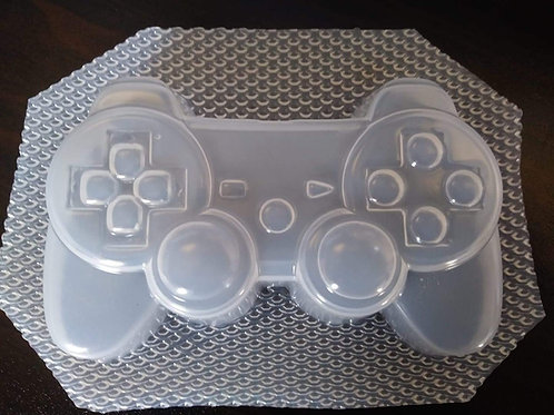 PLAYSTATION CONTROLLER BAR BATH BOMB / SOAP MOULD