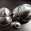 Thumbnail: 45MM STAINLESS STEEL BATH BOMB MOULDS