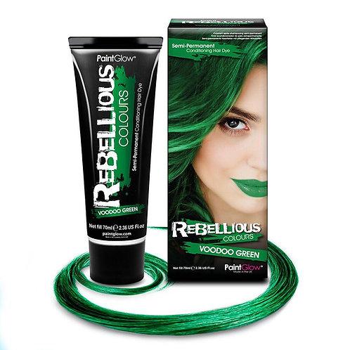 VOODOO GREEN HAIR DYE