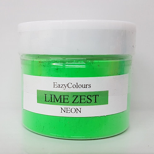 NEON LIME ZEST SOAP COLOUR