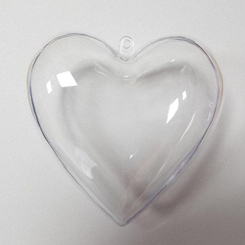 BATH BOMB MOULD - HEART 6CM