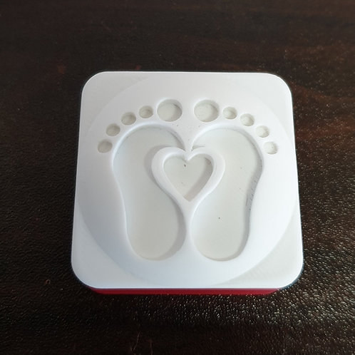 BABY FEET SOAP STAMP